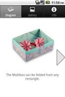 Screenshot of Origami Box