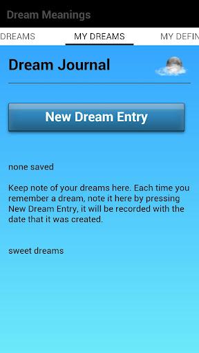 【免費生活App】Dream Meanings and Journal-APP點子
