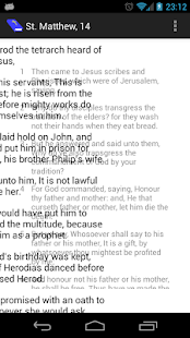 Bible Reader - screenshot thumbnail