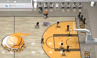 Screenshot of Stickman Basketball