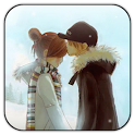 Winter Kiss live wallpaper icon