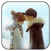 Winter Kiss live wallpaper