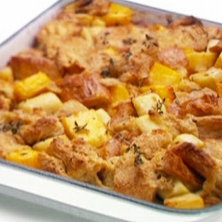 Sweet And Savoury Bread And Butter Pudding