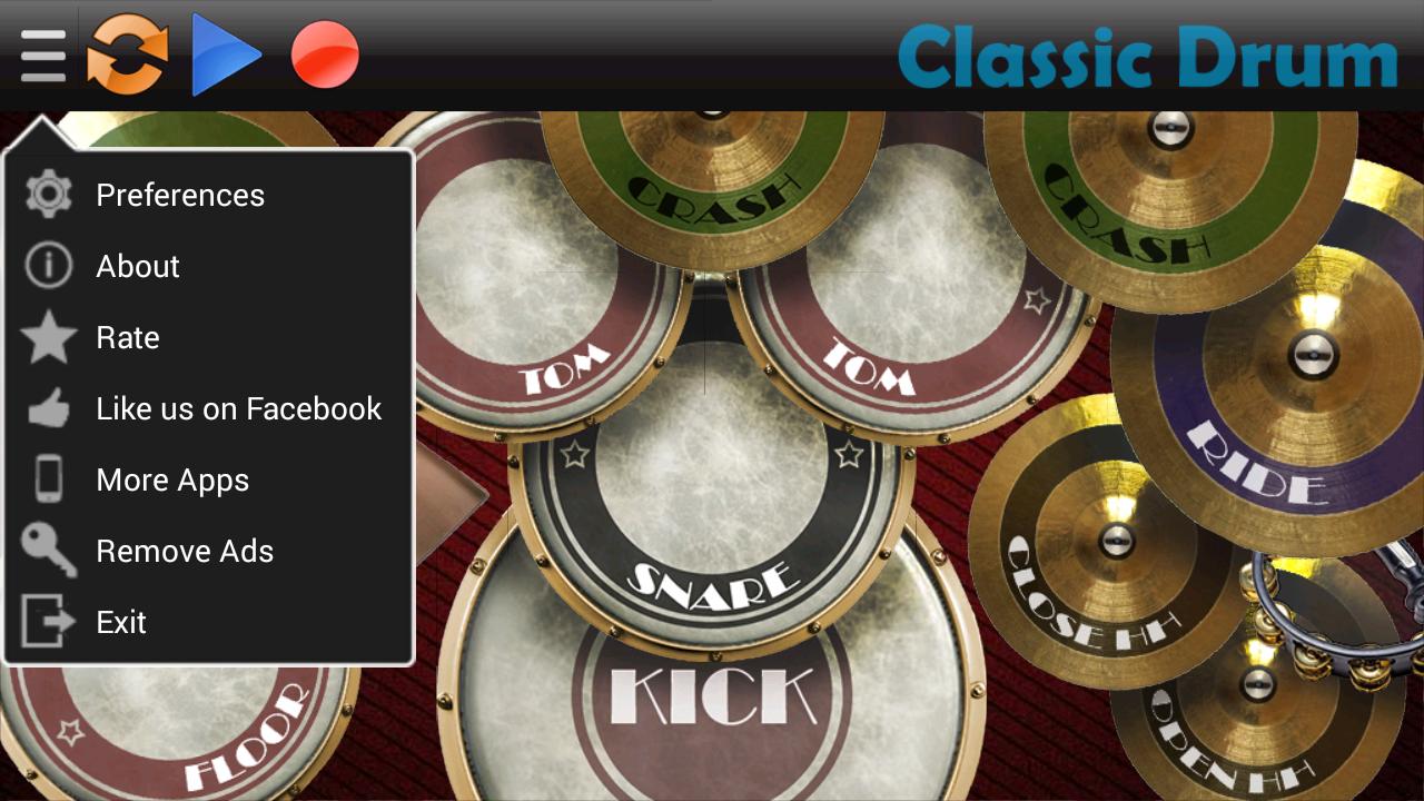 Classic Drum - screenshot