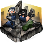 CubeGun Soldiers Vs Terrorists C2 Apk