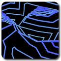 Retro Contours Wallpaper Free icon