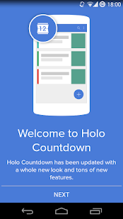 Holo Countdown- screenshot thumbnail