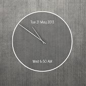 Calendar Clock - UCCW Skin
