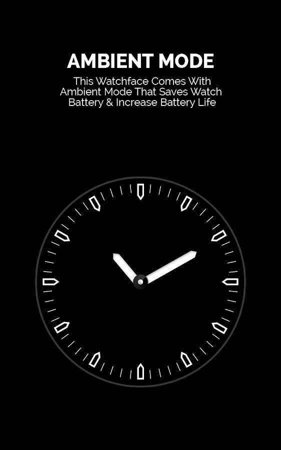 Go Glow Watch Face- screenshot
