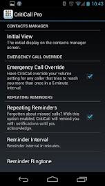 CritiCall Pro Screenshot 6