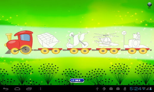 Kids Coloring Game- screenshot thumbnail