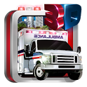 Emergency Ambulance Driving 3D icon