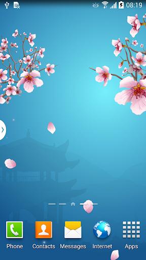 Abstract Sakura Live Wallpaper