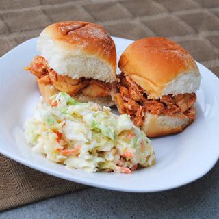 Pulled Chicken Slider Sandwiches