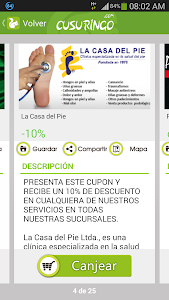 Cusuringo, Cupones y Ofertas screenshot 1