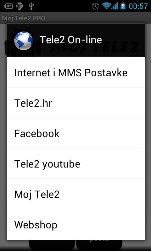 Moj Tele2 PRO- screenshot