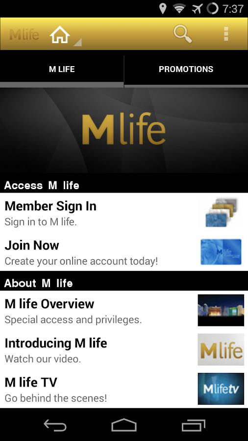 M life - screenshot