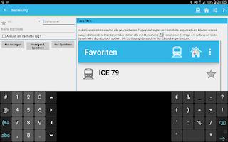 Screenshot of Ist mein Zug pünktlich?