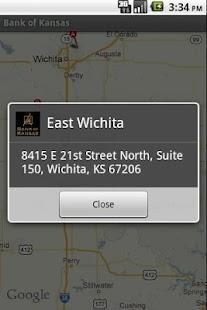 Bank of Kansas' Bank App - screenshot thumbnail