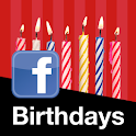 Birthdays for Facebook logo