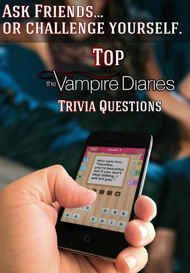 Trivia - Vampire Diaries Fans - screenshot