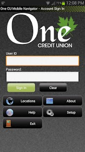 One Credit Union - Vermont - screenshot thumbnail