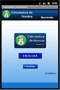 Calculadora de Nomina - screenshot thumbnail