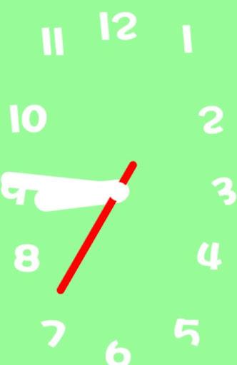 設計模擬時鐘壁紙 - No06