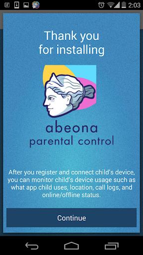 Abeona - Parental Control