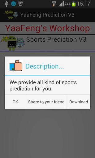 sport prediction