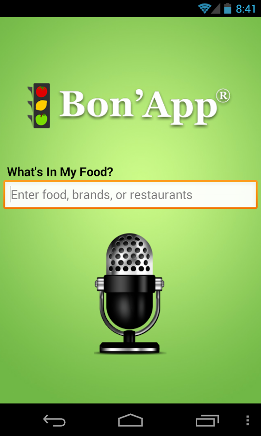Bon'App- screenshot