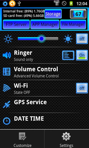 Setting Box All Toggles Pack