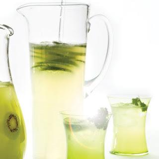 Lime Rickeys with Cilantro