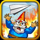 Paper Glider vs. Gnomes