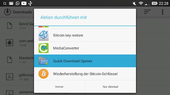 Quick Download Opener