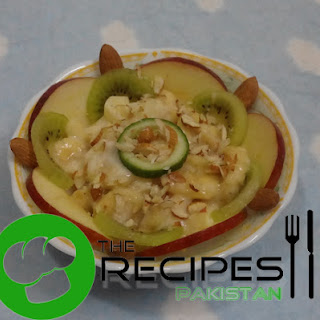 Fruits and Nuts Salad.