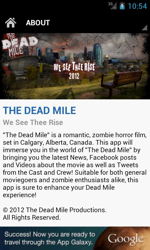The Dead Mile - screenshot