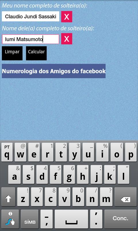 Numerologia do Amor- screenshot