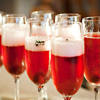 Cocktail Cherry Champagne Recipes.