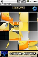 Screenshot of Android Slide Puzzle