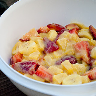 Quick Summer Fruit Salad.