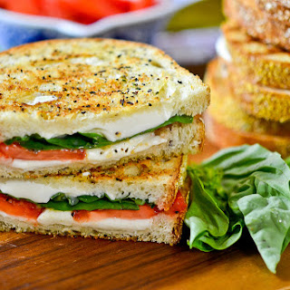 Grilled Margherita Sandwiches Recipe