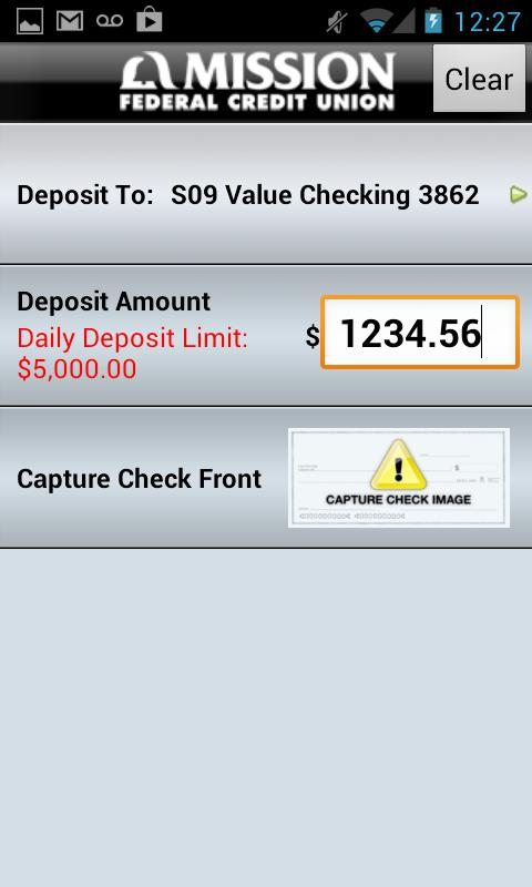 Mission Federal Credit Union - screenshot
