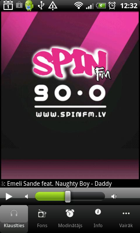 SpinFM 90.0 Latvia- screenshot