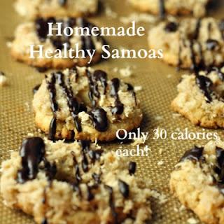 Homemade Healthy Samoas (Vegan/Gluten Free/Low Carb/Paleo)