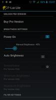 Screenshot of Screen Brightness Control Lite