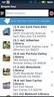 Screenshot of San Mateo County Library