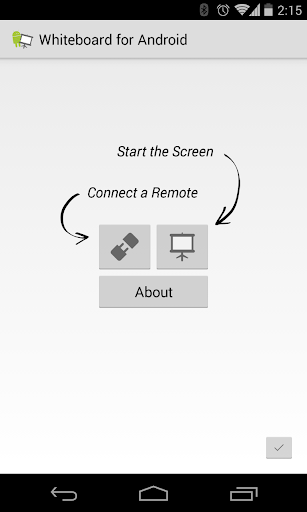 Whiteboard for Android