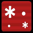 Wort Nachricht LED Gitter icon