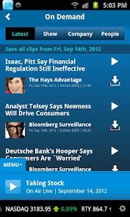 Bloomberg Radio+- screenshot thumbnail